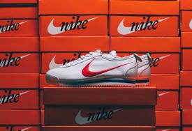 夸张的复古大勾,Nike Cortez 鞋狗配色细节近赏