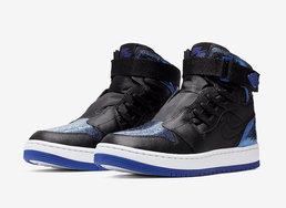 泼墨风格的皇家蓝,这双Air Jordan 1 Nova XX街头感十足
