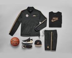 超豪华的字母哥套装,Nike Freak 1 全新豹纹配色即将发售