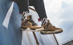 """上脚气质惊艳!Air Jordan 4  """"Mushroom"""" 最新上脚图来了"""
