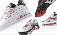 精致的手稿风格Swoosh,Nike全新系列下月发售