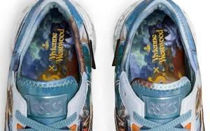 全油畫鞋面藝術氣息滿滿!ASICS x Vivienne Westwood 新作曝光