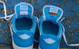 最新實物圖曝光!Nike SB x AJ 1 低幫北卡藍不要錯過了