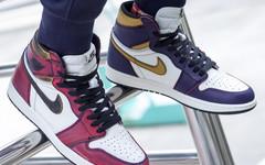 市价超4000! Nike SB x Air Jordan 1 湖人配色刮刮乐即将补货?