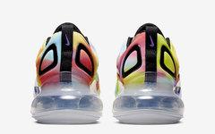 """彩虹扎染鞋面+澎湃气垫!全新 Nike Air Max 720""""Tie-Dye"""" 即将发布"""