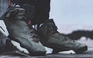 時刻準備迎接突襲!Travis Scott x Air Jordan 6 最新上腳圖釋出