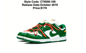 貨量曝光!Off-White? x Nike SB Dunk Low 綠色版本有機會入手?