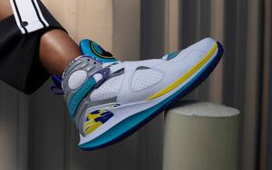 高颜值合体鞋来啦!NikeCourt Air Jordan 8 白水鬼下周亮相