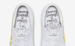 "水印式 Swoosh +涂鸦鞋垫!联名 Nike SB Zoom Janoski""Violent Femmes""现已登场"