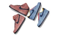 Nike By Levi's 丹宁 Air Force 1  联名登场!不要错过了