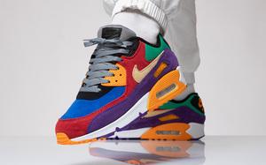 """配色相当炸街!Nike Air Max 90 """"Viotech"""" 新品可以组一双鸳鸯"""