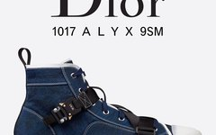 机能风大师之作!1017 ALYX 9SM x Dior B23 联名鞋款疑似曝光