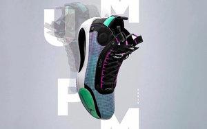 Air Jordan 34 实物图曝光!你觉得颜值几何?