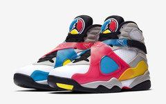 """高颜值高人气配色! Air Jordan 8""""Multi-Color"""" 官图释出"""