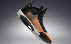 质感极佳的琥珀配色,Air Jordan 34新配色持续曝光