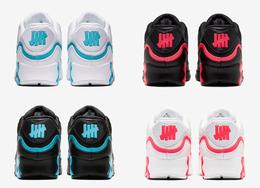 共有 8 款配色! UNDEFEATED x Nike Air Max 90 你喜欢吗?