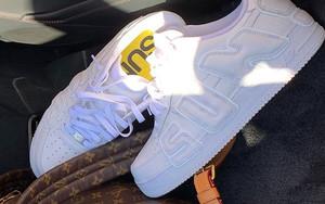 Travis Scott 曝光白色版本!CPFM x Nike Air Force 1 Low 颜值不俗