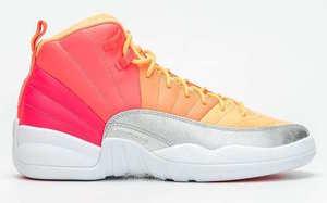 渐变彩虹鞋身!这双全新的 Air Jordan 12 有点小好看