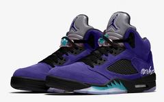 反转黑葡萄?全新的 Air Jordan 5 颜值如何?