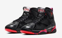 "官圖釋出!Air Jordan 7  ""Black Patent Leather"" 月底發售"