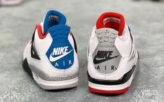 """這顏值能打動你嗎? Air Jordan 4 """" What The """"下月發售"""