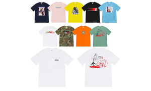 Supreme 2019 秋冬 T恤系列釋出!你會入手嗎?