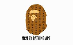 猿人+迷彩+满印设计!MCM x A BATHING APE® 全新联乘系列曝光