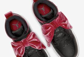 蝴蝶结也太可爱了!全新配色 Air Jordan 1 Mid 即将发售