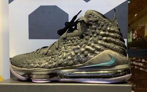 """虹彩细节点缀!这双 Nike LeBron 17"""" Currency"""" 有点霸气"""