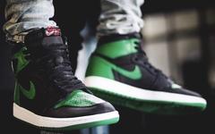 氣質經典復古!黑綠配色 Air Jordan 1 明年2月登場