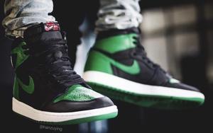 气质经典复古!黑绿配色 Air Jordan 1 明年2月登场