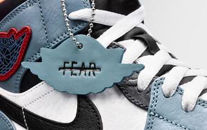 "完整实物曝光!Facetasm x Air Jordan 1 Mid"" Fearless"" 下月登场"