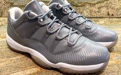 碳纤维代替传统漆皮!这双 Air Jordan 11 Low 有点特别