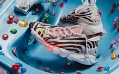 少女心炸裂!這款斑馬紋 Olivia Kim x Nike Air Footscape 顏值非常不錯