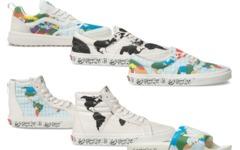 地图印在鞋面上,Vans全新行星系列现已发售