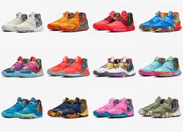 """上海、北京等城市限定配色選哪雙?Nike Kyrie 6"""" Preheat""""系列官圖"""