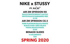 重磅聯名!Stüssy x Nike 全新合作又要來了