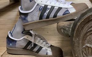 大面積的透明鞋面!Blondey McCoy x adidas 聯名鞋款曝光