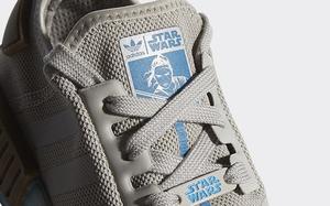 蓝色光剑贯穿鞋身!这款《星球大战》 x adidas NMD R1 你打几分?