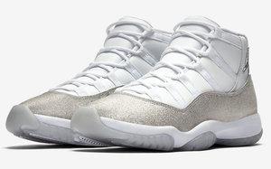 """哪个小姐姐能抗拒?! Air Jordan 11 """" Metallic Silver"""" 官图释出"""