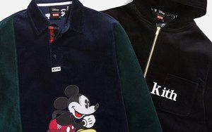 Disney x KITH 联名服饰系列也值得期待!