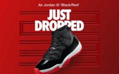 """早上9点突袭发售!Air Jordan 11 """"黑红"""" 你抢到了吗!"""