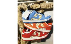这三双 Supreme x Nike SB Dunk 你见过吗?对,它们就是...