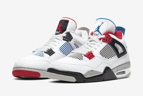 """本周六发售! Air Jordan 4 """"What The""""货量有点..."""