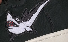 精致鯊魚刺繡 Swoosh !這款聯名 SB Dunk High 有點東西