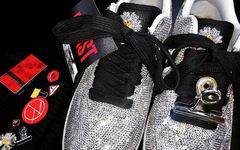 頂奢碎鉆版驚艷亮相!這款 PEACEMINUSONE x Nike Air Force 1 可不敢刮