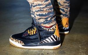 """上脚气质狂野!Air Jordan 3"""" Animal Pack"""" 下月登场"""