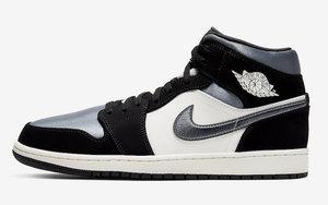 """丝绸鞋面质感相当出众!全新 Air Jordan 1 Mid"""" Satin"""" 即将发售"""