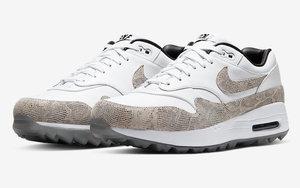 狂野蛇紋元素加持!全新的 Nike Air Max 1 Golf NRG