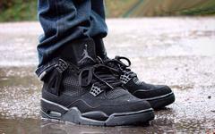 黑魂气质迷人!这才是复刻版黑猫 Air Jordan 4 ?